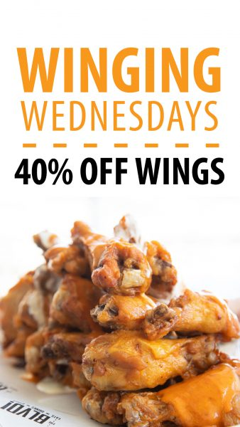 Winging Wednesdays