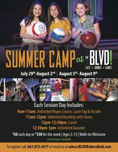 Summer Camp at The BLVD!